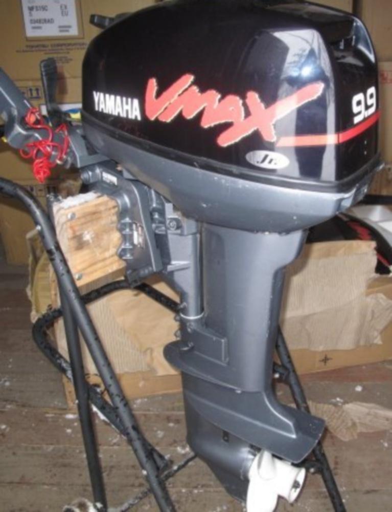 мотор yamaha f40fetl
