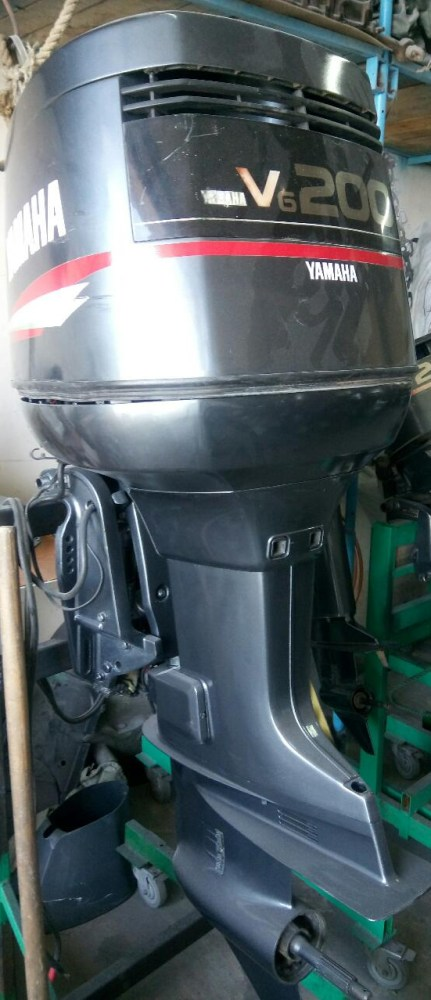 купить запчасти на лодочный мотор ямаха 200