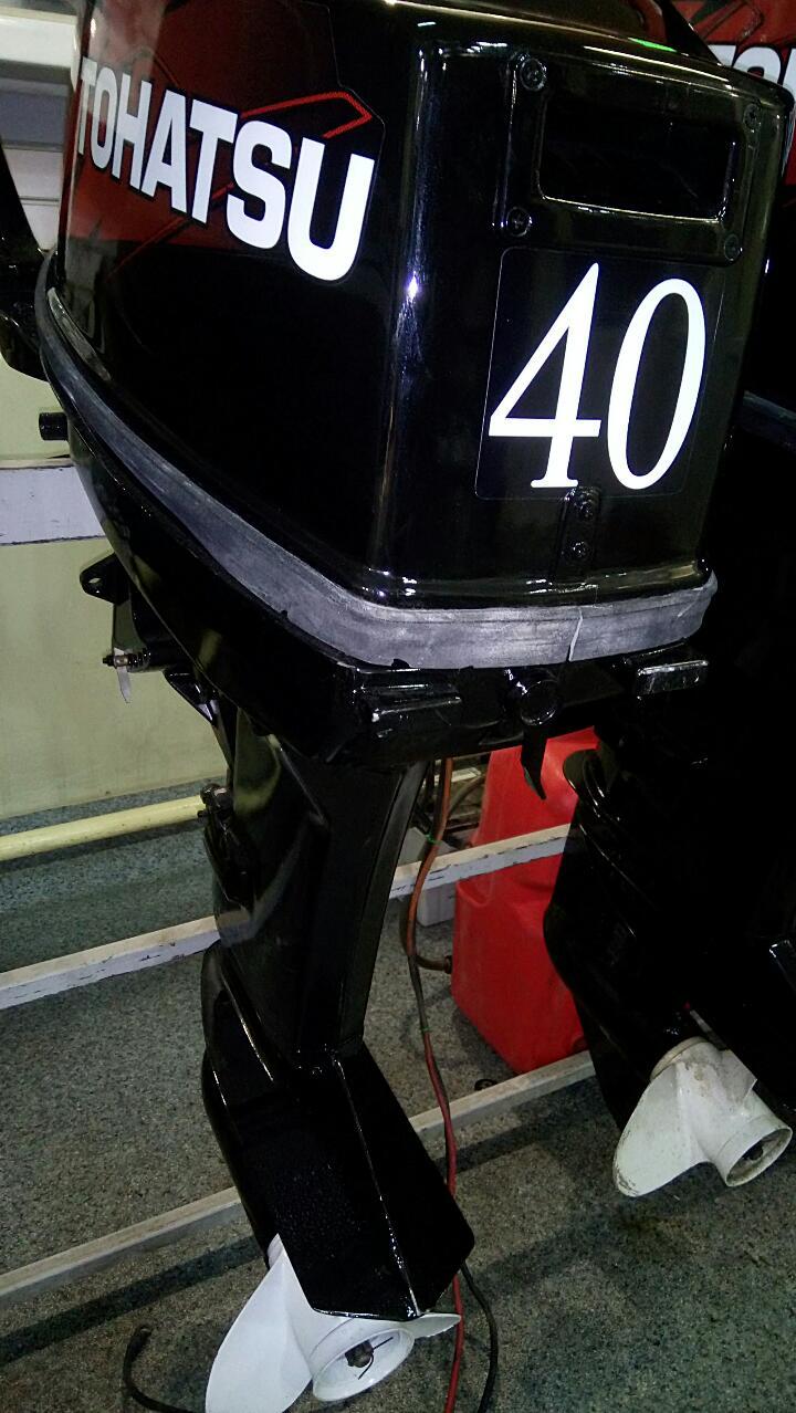 Подвесные лодочные моторы Tohatsu (Тохатсу)
