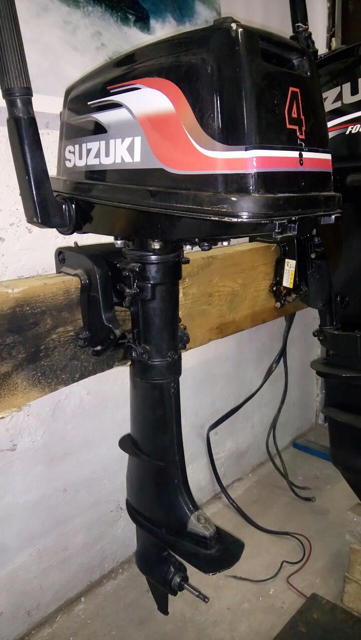 купить навесной лодочный мотор сузуки