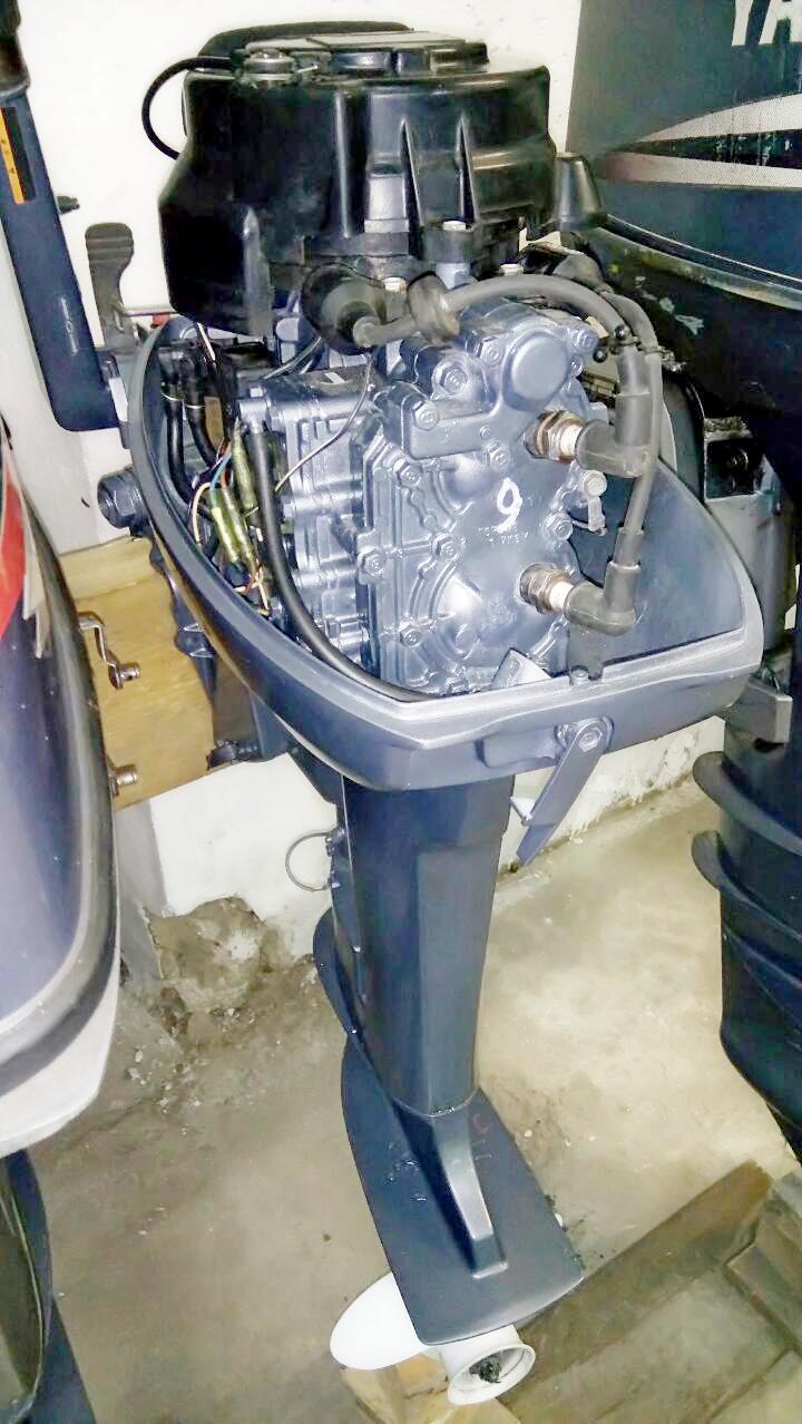 новый лодочный мотор yamaha 9.9 fmhs