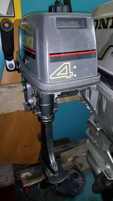 лодочный мотор suzuki 6 л.с 4 такта купить